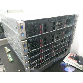 Servidor Hp Dl380e G8 (2x Sixcore, 32gb, 2x 450gb, 4x Lan)