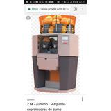 Maquina De Fazer Suco De Laranja Zummo