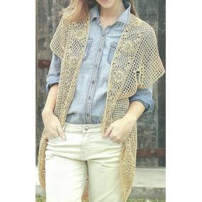 Tejidos Artesanales A Crochet: Chaleco Todo Outfit