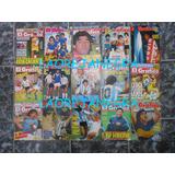 Maradona En Tapas De El Gráfico Goles Gente Minguito