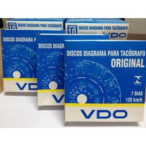 Disco Tacografo Caminhao Vdo Semanal/diario (und)
