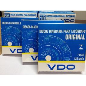 Disco Tacografo Caminhao Vdo Semanal/diario