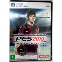 Pes 2010 - Para Pc - Original Lacrado