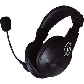 Fone Headset Professional Hs201 New Link