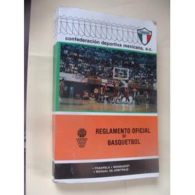 Libro Reglamento Oficial De Basquetbol , Año 1991 , 352 Pa