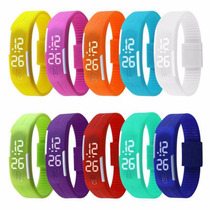 Pulseira Esporte Led Digital Adulto Infantil Moda Man