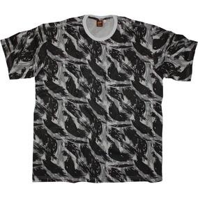Camiseta Camuflada Tamanho Grande Big - G1 Ao G5 - Ref. 410