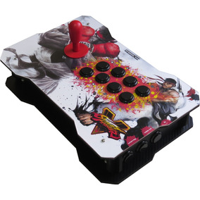 Top Fightstick Controle Arcade Ps4 Ps3 Pc Raspberry