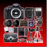 Kit Cámara Canon T6 Lente Ef-s 18-55mm, Memoria Y Mas
