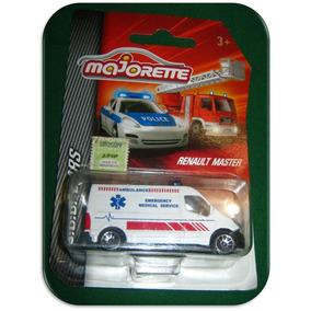 Renault Master Ambulancia Majorette Esc 1/66 Sos Cars