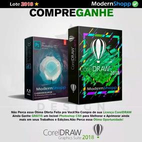 Licença Novo Corel Draw 2018 Serial Chave Original Coreldraw