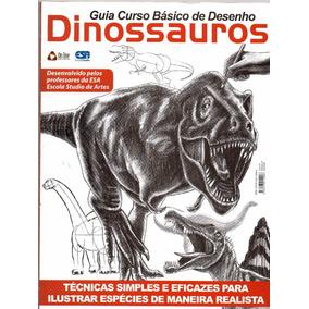 Kit 4 Revistas Aprenda A Desenhar Curso Básico De Desenho