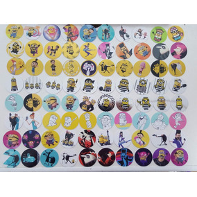 80 Tazos Sabritas Mi Villano Favorito 3 - Coleccion Completa