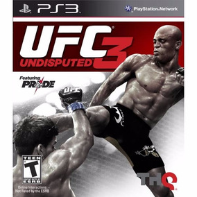 Ufc Undisputed 3 Novo Original Lacrado Ps3