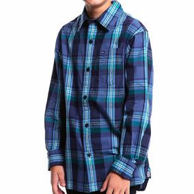 Camisa Lb Ls Burns Bebe Tommy Hilfiger To175