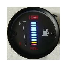Medidor De Gasolina Combustivel Led Carro Lanchas Universal