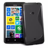 Capa Case Gel Tpu Celular Nokia Lumia 625 Pelicula Grátis