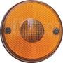 Lente P Lanterna Redonda Traseira/lateral Amarela P Caminhão
