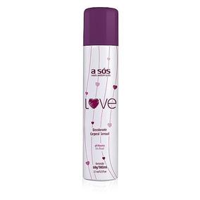 Desodorante Íntimo Love - 60g/100ml - Cosmeticos A Sós