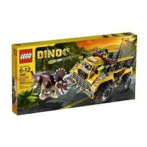 Juguetes Lego Trampero Dino Triceratops 5885 Amarillo