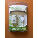 Xb 360 Bateria Recargable 4800 Mah - Envio Desde $30