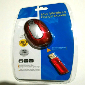 Mouse Mini Wireless Optical 800dpi