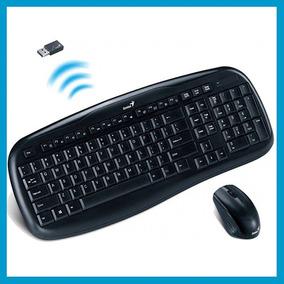 Kit Teclado Mouse Inalambrico Genius Kb 8000x Smarttv