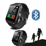 Relógio Smartwatch U8 Preto Bluetooth
