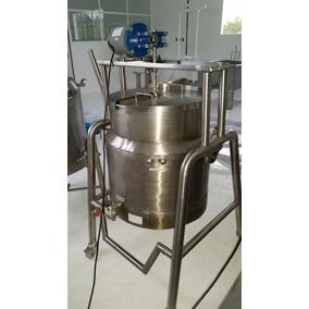 Marmita Tipo Tanque C/ Sistema De Volteo O Fija O Pasteuriza