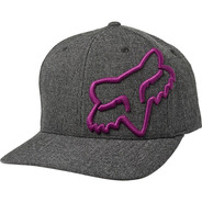 Gorra Fox Clouded Flexfit Negro/morado Casual
