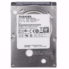 Hd 320gb Toshiba Sata 3 6gb/s Slim Notebook Mq01abf032 C/ Nf