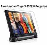 Pack X2 Laminas De Vidrio Tablet Lenovo Yoga 3 8 850f
