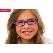 Óculos Infantil Miraflex New Baby 3 8 A 11 Anos Original Nf