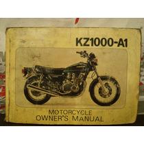 Kawasaki Kz1000-a1 Manual Servicio * Changoosx
