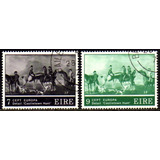 Col 11675 Irlanda 317/18 Tema Europa Cavalos Cães Pintura U