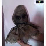 Mascara Fantasia Torror Espantalho Artesana - Br Costumes