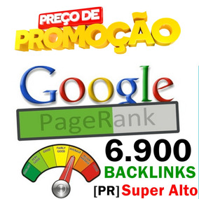 6.900 Backlinks Pagerank [pr] Super Alto Nichos Específicos
