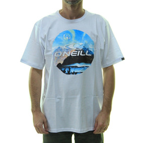 257140ffad Camiseta Masculina Oneill Mountain Estampada Manga Curta - B