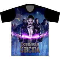 Camiseta Esquadrão Suicida Coringa Joker Harley Quinn