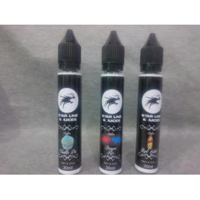 Pack 3 Juices Cigarro Eletronico Com 30ml Cada