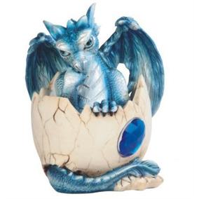 Stealstreet Ss-g Dragón Azul Del Bebé Pegado En Huevo Con L