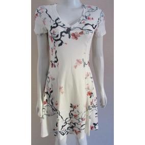 Vestido Branco Estampado - Lança Perfume