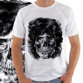 Camiseta Masculina Jim Morrison Caveira 1