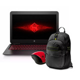 Notebook Hp Omen 15-ax201la I5-7300 8gb + Mochila + Mouse Hp