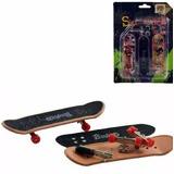 Kit Com 2 Skates De Dedo Profissional Fingerboard +frete