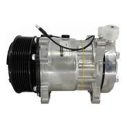 Compressor Ar Cond 7h15 24v Polia 8pk Orig Denso Vertica