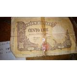 Billete Antiguo. Lira Italiana De 1943