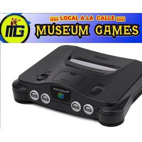 Nintendo 64 Ntsc Solo La Consola Funcionando +jumper Local