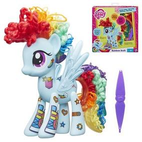 Mi Pequeño Pony My Little Pony Rainbow Dash Diseño Un Potro