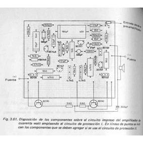 10 Placas Circuito Impreso Amplificadores Vintage Fapesa 40w